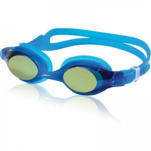 China Cartoon siliconeTempered lens unique patent safe design underwater Kids Swim Goggles on sale