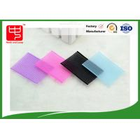 China Reuseable magic hook and loop sheet , girls hair clips Elasticity feature Water resistance wholesale