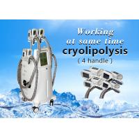 4 Handle Working Same Time Cryolipolysis slimming machine for fat reducing loss