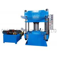 China 1000mm * 1000mm Rubber Tile Making Machine With 160T Pressure Relay Automatic Control on sale