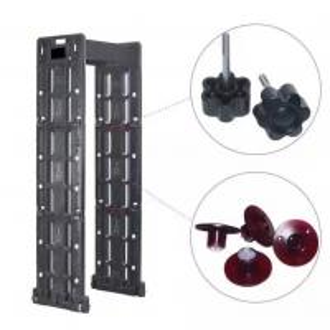 Buy cheap Портативная прогулка до касание детектора металла черное или белое экран LCD 7 дюймов from wholesalers