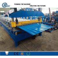 Buy cheap Hydraulic Cutting Roof Panel Roll Forming Machine from wholesalers