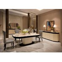 China Room Furniture Modern Glass Dining Table W005D1C on sale