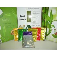 China Silver , gold Detox Foot Patch , foot detoxification pads with chinese herbal fomulation wholesale
