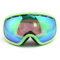 China Windproof Snow Ski Goggles with Three Layer Foam / Ladies Otg Ski Goggles wholesale