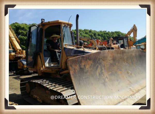 Quality CAT D5G LGP Caterpillar 3046T Second Hand Bulldozers 99hp 9 km/h for sale