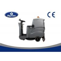 China Battery Operated Industrial Floor Scrubbers Cleaning Machines Single Brush Walk Behind wholesale
