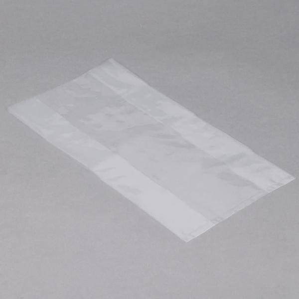 "Quality 6"" X 3"" X 12"" Plastic Flat Bags LDPE Material Clear Colour For Food for sale"