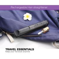China Portable Small Size Safe Battery Operated Hair Straightener , Travel Flat Iron wholesale