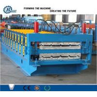 China Durable Double Layer IBR Metal Roof Sheet Roll Forming Machine Approved CE wholesale