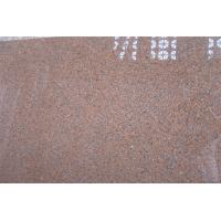China Natural Tianshan Red Granite Countertop Slabs With bullnose , ogee , bevel Edge Style on sale