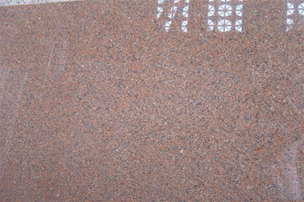 Quality Natural Tianshan Red Granite Countertop Slabs With bullnose , ogee , bevel Edge Style for sale