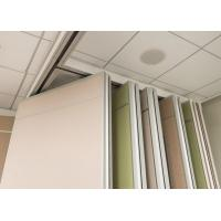 Durable Movable Wall Systems Anodizing Treatment For Executive Boardrooms