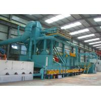 Buy cheap Steel Sheets Automatic Blasting Machine Electric Control 90KW High Performance from wholesalers