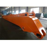 Quality Heavy Duty Excavator Long Reach Arm for EX1200-5 With 28 Meters And 6 Ton Counter Weight for sale