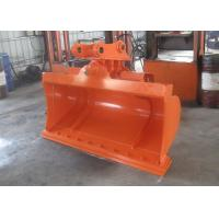 China High Efficiency Hitachi ZX120 Excavator Tilt Bucket With Bolted Cutting Edge wholesale