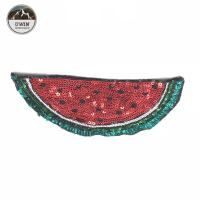 China Various Design Watermelon Iron On Patch Sequin 20.5 * 11CM Size Custom Color wholesale