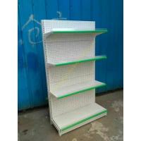 China Pegboard Metal Shop Supermarket Display Shelving Durable Cold Rolled Steel wholesale