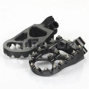 China Suzuki Aluminum Dirt Bike Foot Pegs Anti Slip Control Motocross Footpegs With High Grip on sale