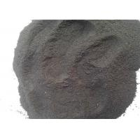 China Black Color Powder Shaped Coal Tar Pitch Exposure With High Water Soluble Content wholesale