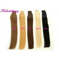 """China 100% Remy Tape In Hair Extensions 16' To 26"""" Long 1B Black Light Blonde Colors wholesale"""