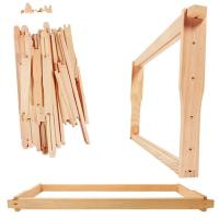 China Bee Keeping Equipment Hive Tools Wood Honey Bee Hive Frame for Beekeepers wholesale