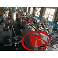 Buy cheap fine surface , high intensity ,thicker ,solid wood and plastic composite door board machine , door board machine from wholesalers