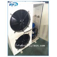 China DD-2.8/15 DD Series Air Cooled Condenser In Refrigeration , White / Black wholesale
