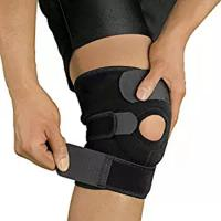 China Open Patella Compression Knee Brace Supports For Injury Recovery Adjustable Strapping Breathable wholesale