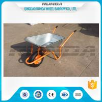 China 4.5CBF Heavy Duty Wheelbarrow Wb6414K, 85L Capacity Yard Garden Cart Various Size wholesale