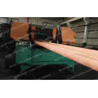 China 100mm Red Copper Pipes Continuous Casting Plant , Horizontal Casting Machine wholesale