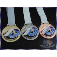 China Recessed Matte Effect Gold Silver Bronze Medals , Music Award Medals Durable wholesale