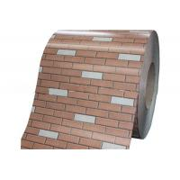 China SPCC Brick And Marble PPG Hot Dipped Galvanized Steel Sheet In Coils Long Life wholesale