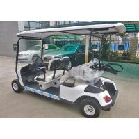 China Square Amusement Park Electric Tractor , Electric Sightseeing Vehicles wholesale