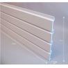 China White Plastic Slat Garage Wall Panels Storage with Slat Wall Hooks wholesale