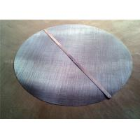 China Wear Resisting Stainless Steel Filter Mesh 0.025mm - 1.80mm Wire Diameter wholesale