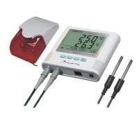 External alarm  Display Two Channel Temperature Data Logger with software