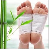 China Bamboo Vinegar Body Detox Foot Patch Feet Care Detoxifying Foot Patches Pads Herbal Cleansing Improve Sleeping Slim on sale