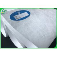 Buy cheap White waterproof Acid resistant Tyvek paper / dupont paper for the medical from wholesalers