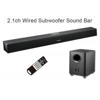 China Home Theater Bluetooth Soundbar With Digital Optical Input 3D Surround Sound wholesale