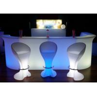Buy cheap LED Bar Furniture Type Mobile LED Bar Counter Sets for Party Drink Use from wholesalers