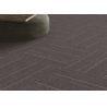 China Unique Office Carpet Flooring / Polypropylene Carpet Tiles Eco - Friendly wholesale