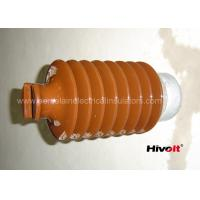 China IEC Standard Caped Line Post Insulator 35KV With Metal Base / Tie Top wholesale