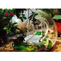 China 0.8MM Pvc Anti Clod Clear Dome Tent Transparent Bubble Tent Camping wholesale