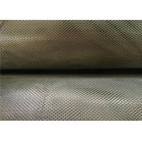 China 3 X 5 Mm Zinc Coated Steel Expanded Metal Mesh 0.4Mm Thickness 18Kg Per Roll wholesale
