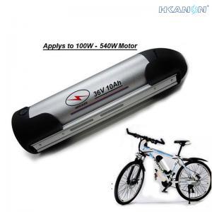 China Waterproof 36V E Bike 36 Volt Battery , Electric Bike Water Bottle Battery on sale