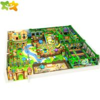 China Jungle Theme Commercial Kids Games Indoor Playground Equipment For Sale wholesale