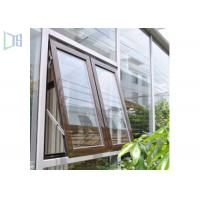 China High Performance Aluminum Awning Window / Top Hung Roof Window on sale