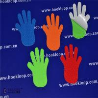 China Hands Shaped Self Adhesive Hook And Loop Tape Soft   Sticky Back Fasteners wholesale