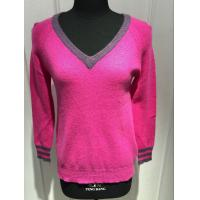 China Women'S Cashmere V Neck Sweater , Long Sleeve V Neck Cashmere Sweater Womens 123g wholesale